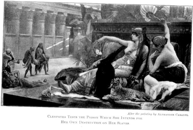 Cleopatra poison