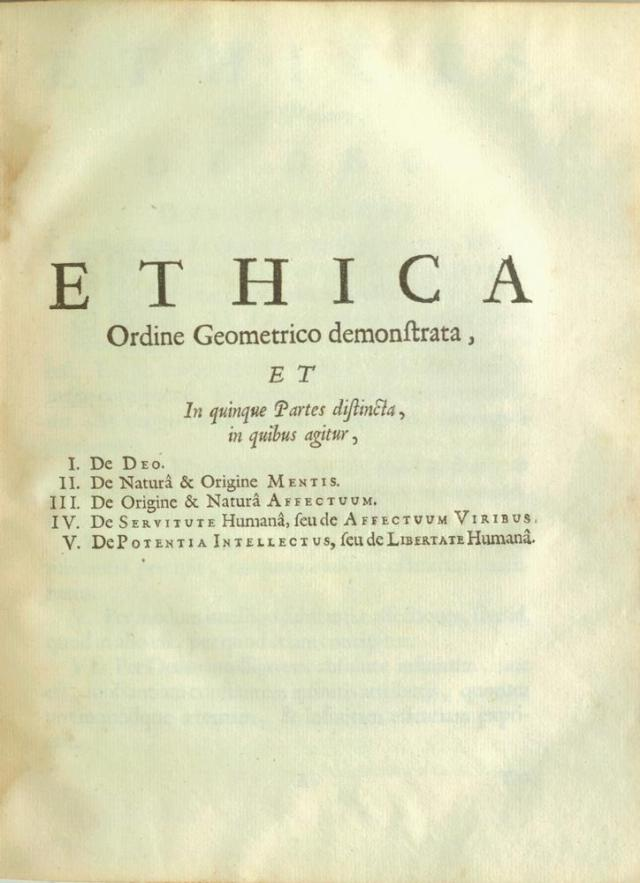ethics-spinoza