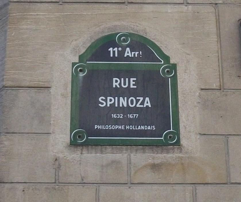 rue spinoza