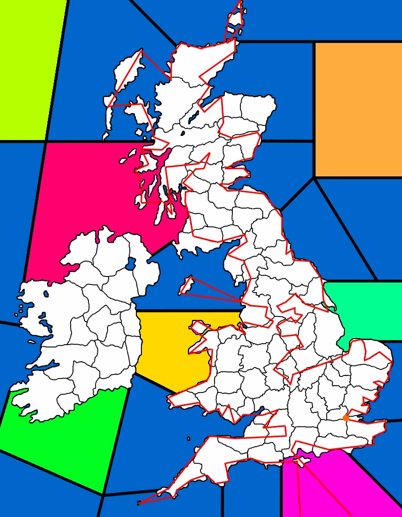 british isles route